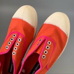 Rare Bensimon DKNY two tones sneakers 39